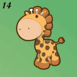 Buste Nascita Immagine Giraffina