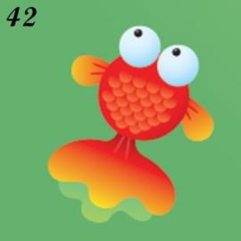 Buste Nascita Immagine Pesce rosso