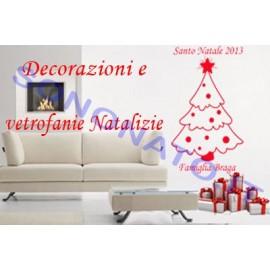 Adesivo Albero di Natale Grande