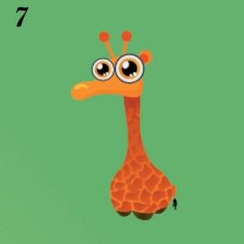 Lucina notturna immagine Giraffa