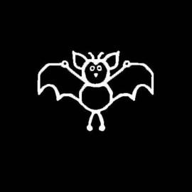 Famiglia Adesiva Pipistrello