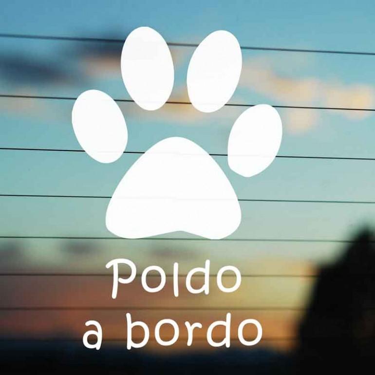 Impronta adesiva cane