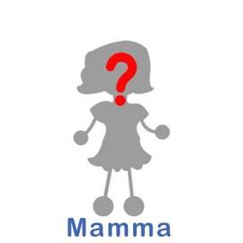 Adesivo Famiglia Mamma come vuoi tu