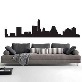 Adesivi Murali Skyline Austin