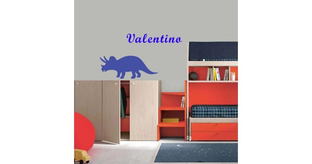Adesivo Murale Triceratopo