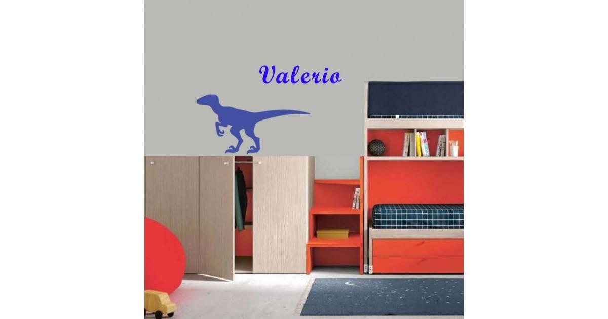 Adesivo Murale Velociraptor
