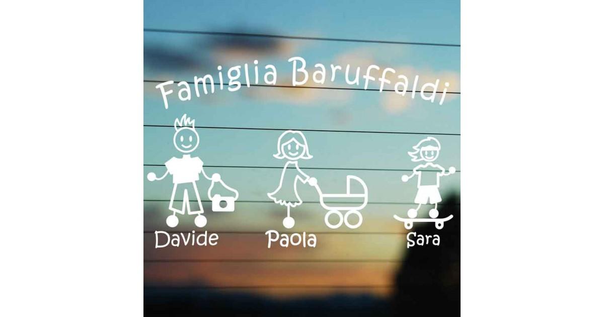 Adesivo Cognome Famiglia