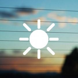 Adesivo  Sole