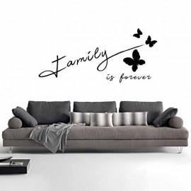 Adesivi Murali Family forever