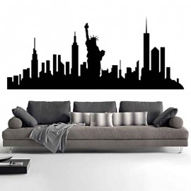 Adesivi Murali Skyline New York