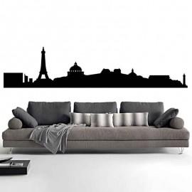Adesivi Murali Skyline Parigi piccolo