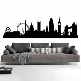 Adesivi Murali Skyline Londra piccolo
