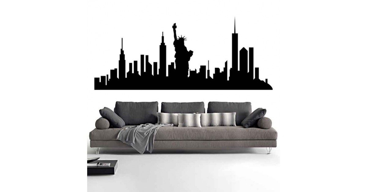 Adesivi Murali Skyline New York piccolo
