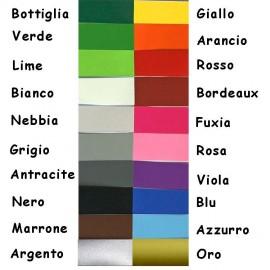 Tabella Colori Adesivi Murali mappamondo tipografico  planisfero piccolo