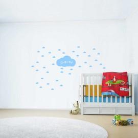 Adesivi murali nuvolette piccolo