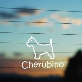 Adesivo Famiglia Cane razza West Highland Terrier