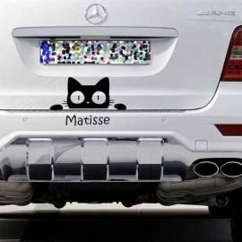 Adesivo Gatto muso