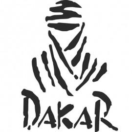 Adesivo logo rally dakar