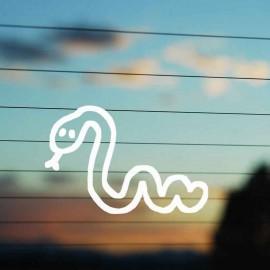 Adesivo Famiglia Serpente