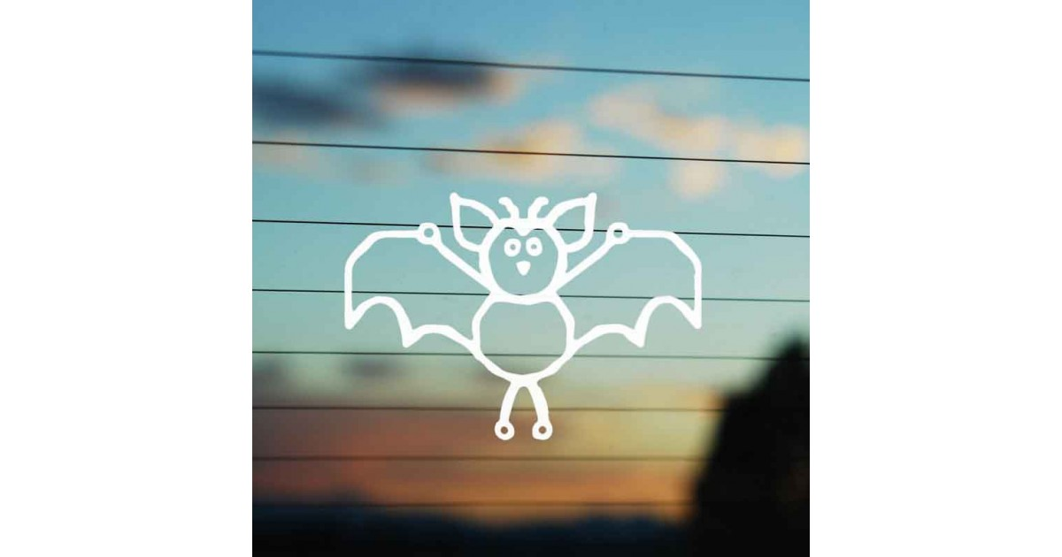Adesivo Famiglia Pipistrello