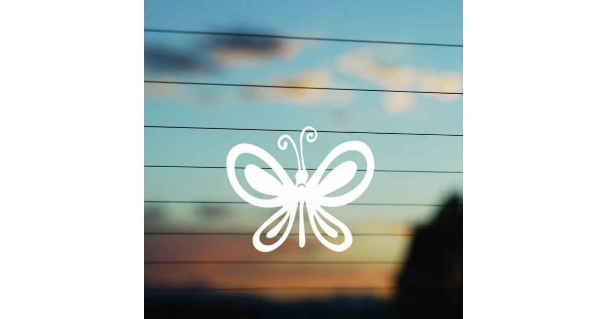 Adesivo Famiglia Farfalla
