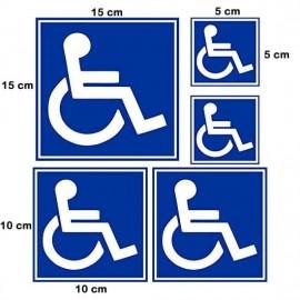 Adesivo per Disabile