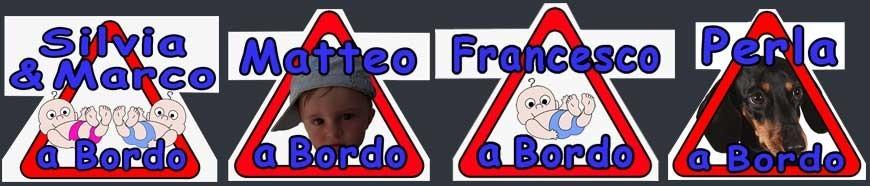 Adesivi Bimbo a Bordo Personalizzati con nome e foto - SonoNato