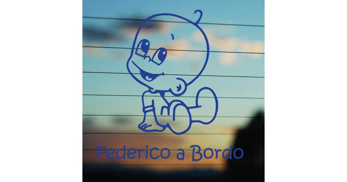 Bimbo a bordo Federico
