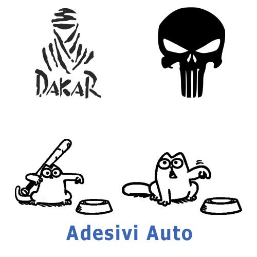 Categoria Adesivi Auto