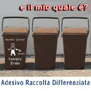 Categoria Adesivo Raccolta Differenziata